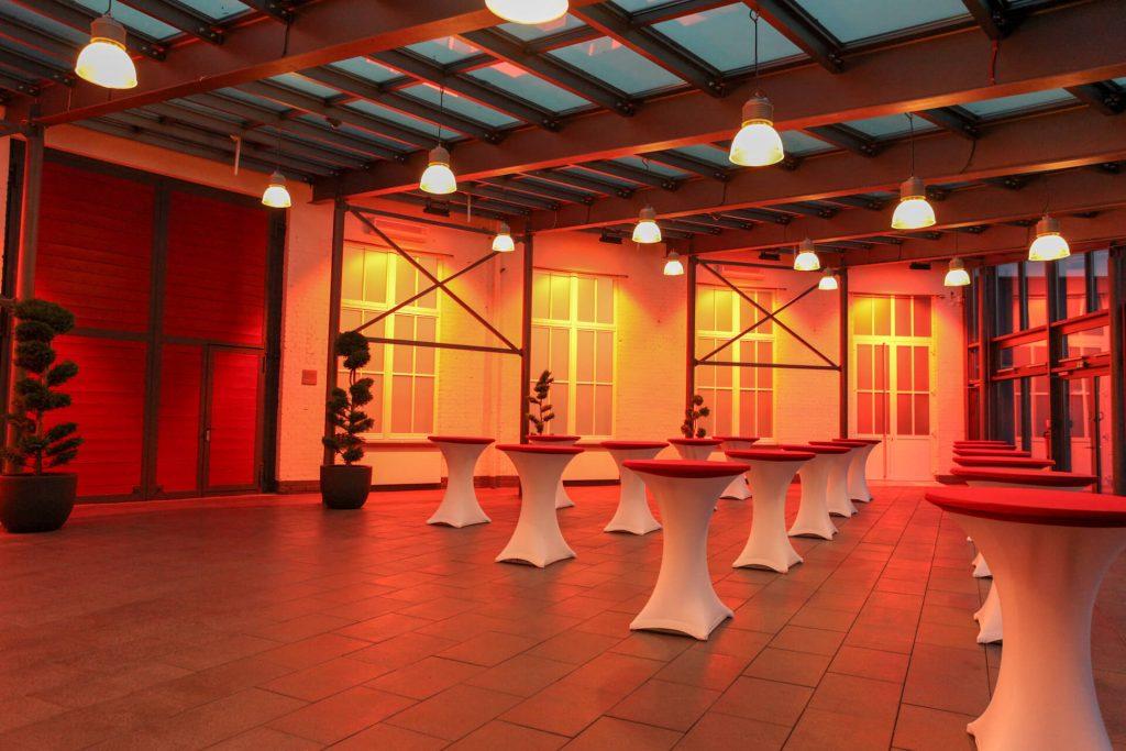 Industriellle Event Location Frankfurt