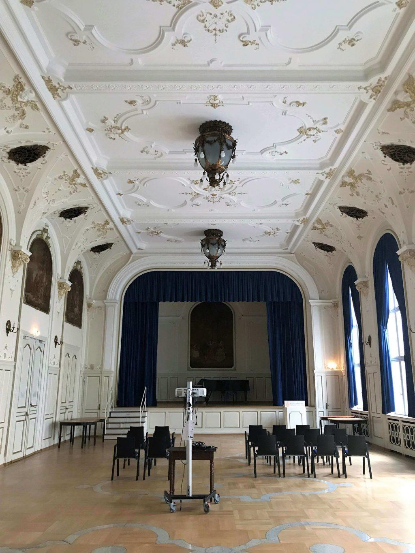 Historischer Festsaal im Bahnhofsviertel